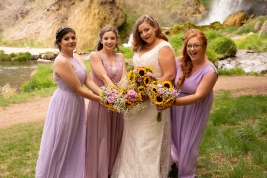 Bride and Bridesmaids2